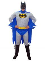 fantasia de Batman Azul