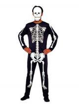 fantasia de Esqueleto Macacão
