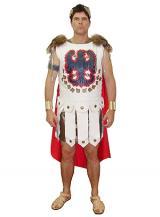 fantasia de Gladiador Branco