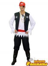 fantasia de Pirata Standart