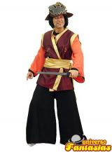 fantasia de Samurai Luxo