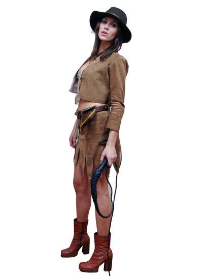 f8c939ccfcce9 Fantasia de Indiana Jones - Feminino