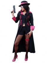 fantasia de Gangster Rosa