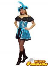 fantasia de Pirata Azul