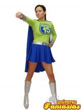 fantasia de Super 15 Feminino