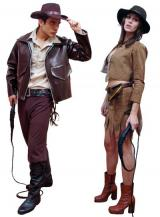 fantasia de Casal Indiana Jones