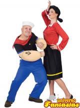 fantasia de Popeye e Olivia