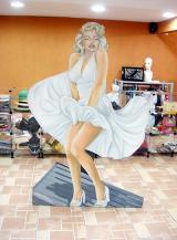 fantasia de Marilyn Monroe