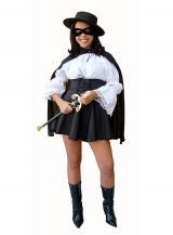 fantasia de Mulher Zorro
