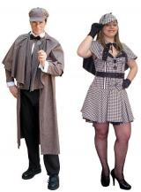 fantasia de Casal Sherlock Holmes