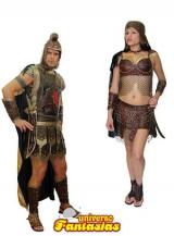 fantasia de Casal de Gladiadores