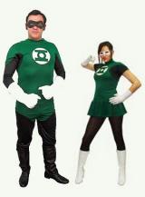 fantasia de Casal Lanterna Verde