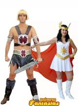 fantasia de He-Man e She-Ha