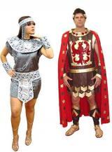 fantasia de Cleopatra e Marco Antonio