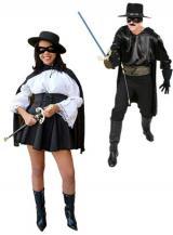 fantasia de Casal Zorro
