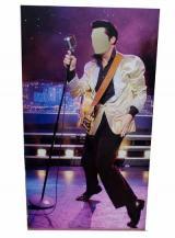 fantasia de Elvis - Painel