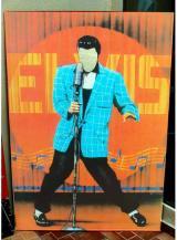 fantasia de Elvis anos 60