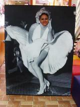 fantasia de Marilyn Monroe - Painel
