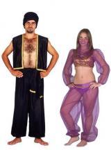 fantasia de Aladin e Jasminie